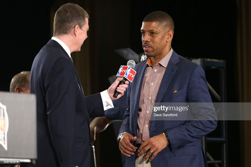 Kevin Johnson is announced as a finalist for the Naismith Memorial Basketball Hall of Fame class of 2016 during the 2016 NBA All-Star Weekend at the Sheraton Centre Toronto Hotel on February 12, 2016 in Toronto, Ontario, Canada.