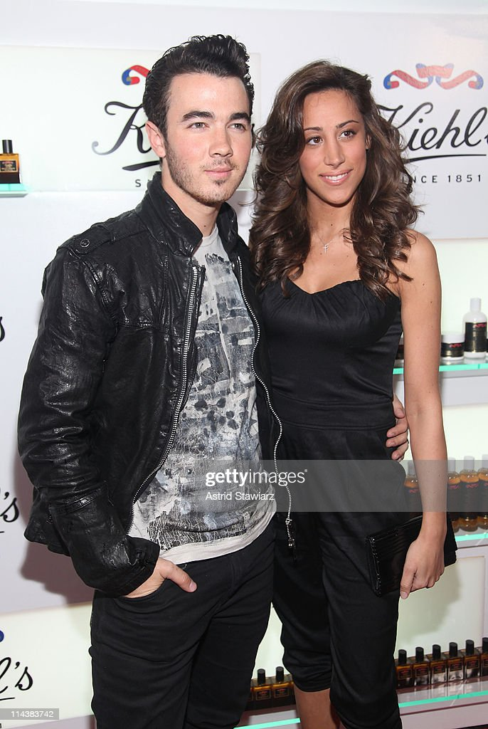 <a gi-track='captionPersonalityLinkClicked' href=/galleries/search?phrase=Kevin+Jonas&family=editorial&specificpeople=709547 ng-click='$event.stopPropagation()'>Kevin Jonas</a> and <a gi-track='captionPersonalityLinkClicked' href=/galleries/search?phrase=Danielle+Deleasa&family=editorial&specificpeople=6716653 ng-click='$event.stopPropagation()'>Danielle Deleasa</a> attend Kiehl's 160th anniversary celebration at Kiehl's Flagship Store on May 18, 2011 in New York City.