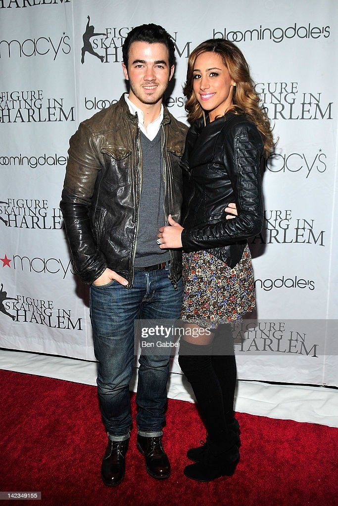 <a gi-track='captionPersonalityLinkClicked' href=/galleries/search?phrase=Kevin+Jonas&family=editorial&specificpeople=709547 ng-click='$event.stopPropagation()'>Kevin Jonas</a> and Danielle Jonas attend the 2012 Skating with the Stars gala at theWollman Rink - Central Park on April 2, 2012 in New York City.