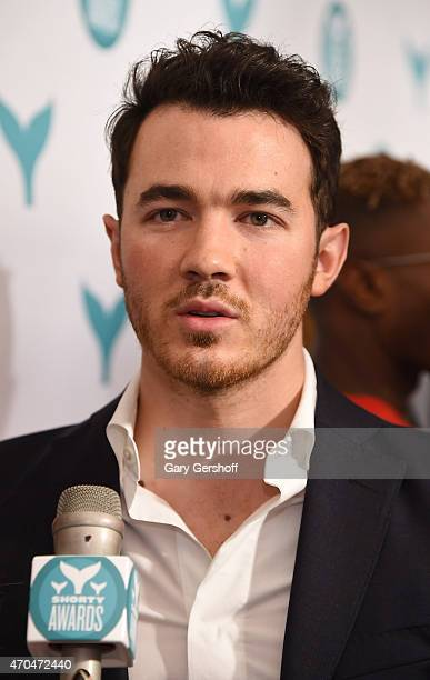 Kevin Jonas attends The 7th Annual Shorty Awards on April 20 2015 in New York City