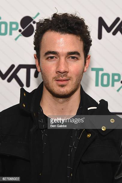 Kevin Jonas attends the 8th Annual TopSpin New York Charity Event at Metropolitan Pavilion on December 1 2016 in New York City