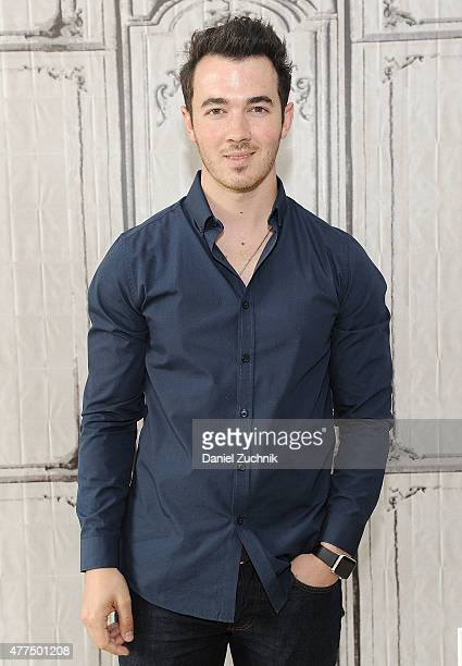 Kevin Jonas attends the AOL Build Speaker Series Presents Kevin Jonas at AOL Studios In New York on June 17 2015 in New York City