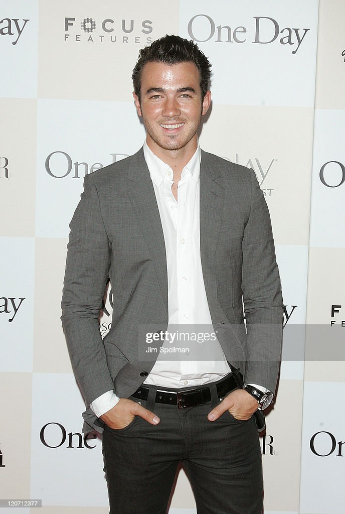 Kevin Jonas attends the 'One Day' premiere at the AMC Loews Lincoln Square 13 theater on August 8, 2011 in New York City.