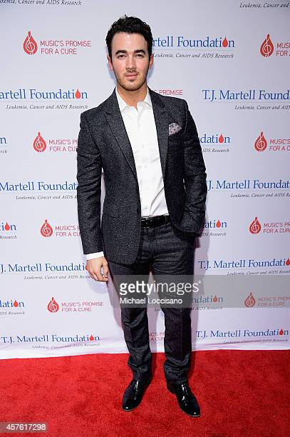 Kevin Jonas attends the TJ Martell Foundation's 39th Annual New York Honors Gala at Cipriani 42nd Street on October 21 2014 in New York City