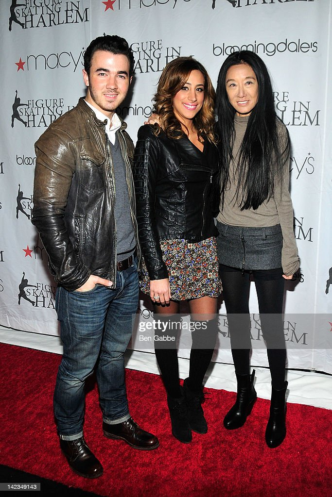 <a gi-track='captionPersonalityLinkClicked' href=/galleries/search?phrase=Kevin+Jonas&family=editorial&specificpeople=709547 ng-click='$event.stopPropagation()'>Kevin Jonas</a>, Danielle Jonas and Vera Wang attend the 2012 Skating with the Stars gala at theWollman Rink - Central Park on April 2, 2012 in New York City.