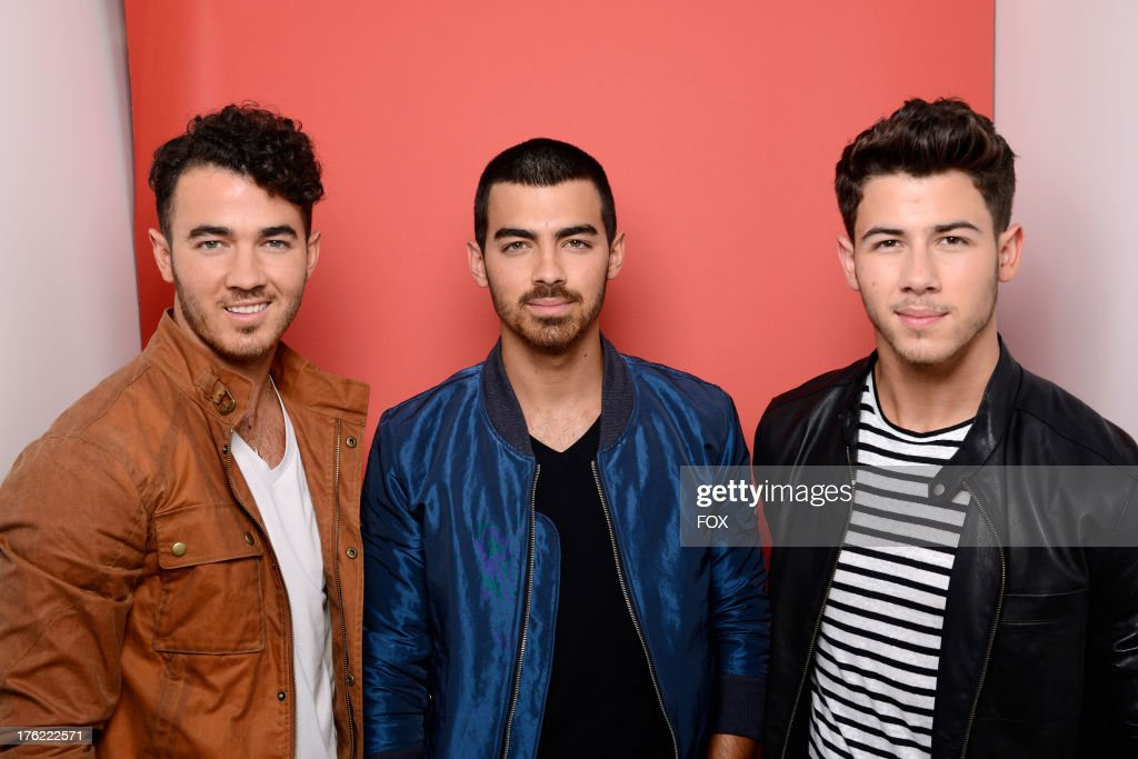 Kevin Jonas Joe Jonas and Nick Jonas of The Jonas Brothers attend Fox Teen Choice Awards 2013 held at the Gibson Amphitheatre on August 11 2013 in...