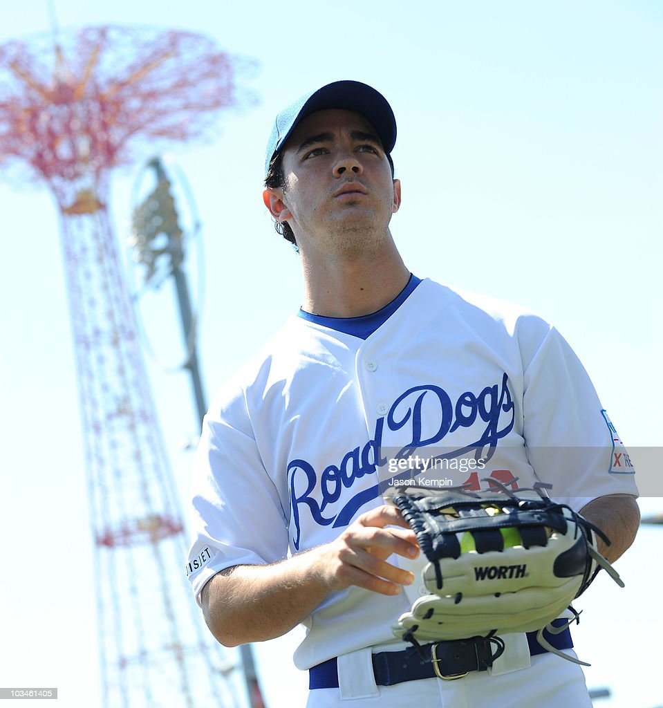 Jonas Brothers Encourage Fans to X the TXT on Road Dogs Softball ...