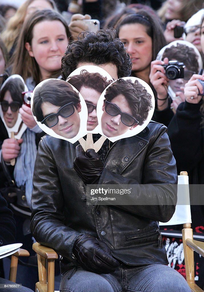 Kevin Jonas of The Jonas Brothers visit CBS' 'The Early Show' at CBS Studios on February 13 2009 in New York City