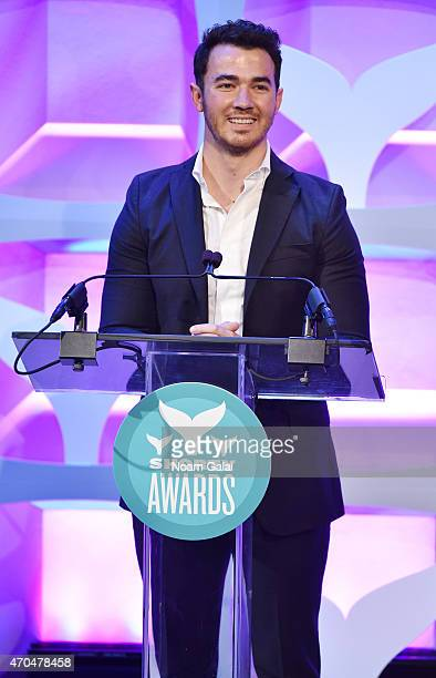 Kevin Jonas speaks onstage during the 7th Annual Shorty Awards on April 20 2015 in New York City