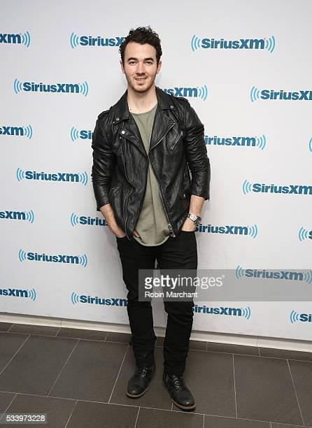 Kevin Jonas visits at SiriusXM Studios on May 24 2016 in New York City