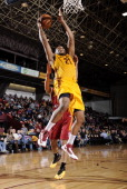 Kevin Jones of the Canton Charge goes up for the shot against the Fort Wayne Mad Ants at the Canton Memorial Civic Center on January 31 2014 in...