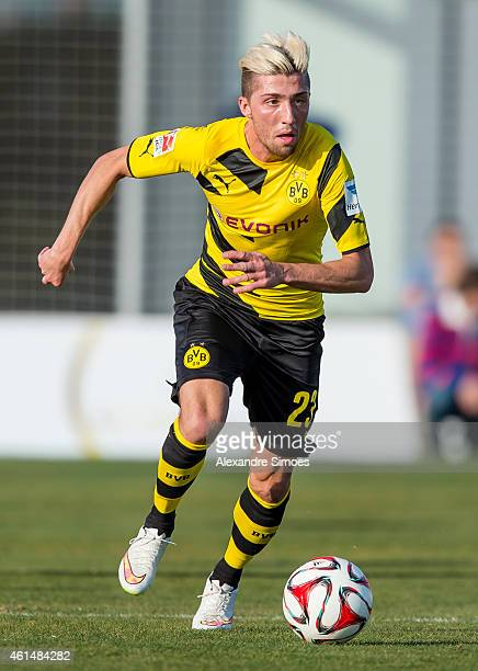 Kevin Kampl of Borussia Dortmund during a friendly match against FC Sion at Borussia Dortmund training ground on January 13 2015 in LaManga Spain