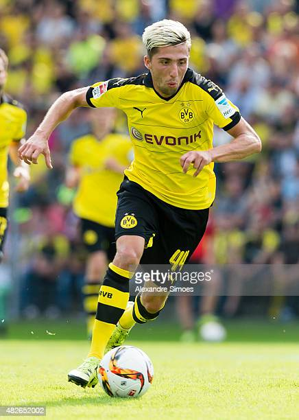 Kevin Kampl of Borussia Dortmund during the preseason friendly match between Borussia Dortmund and Betis Sevilla at Stadium AM ZOO on August 1 2015...