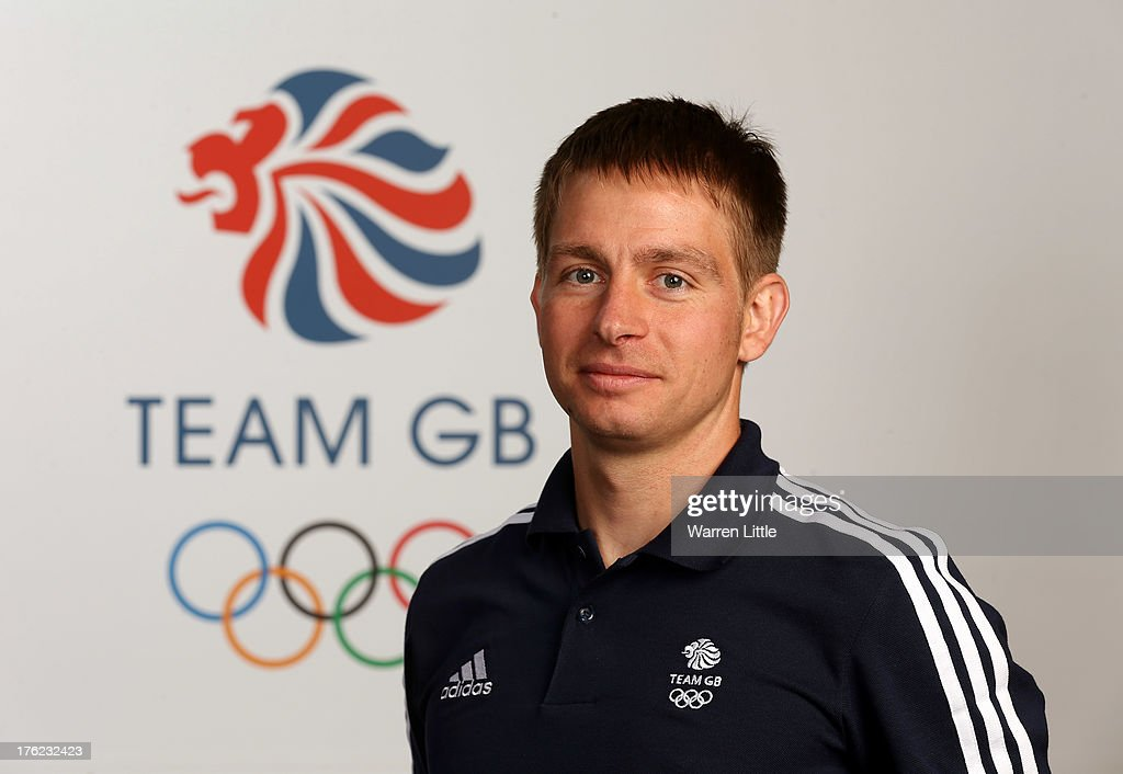 Kevin Kane of the British Winter Olympic Biathlon Team poses for a portrait during the Team GB Winter Olympic Media Summit at Bath University on August 9, 2013 in Bath, England.