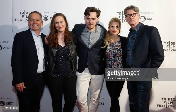 Kevin Kay Ashleigh Bell Adrian Buitenhuis Jaimee Kosanke and Derik Murray attend 'I Am Heath Ledger ' during the 2017 Tribeca Film Festival at Spring...