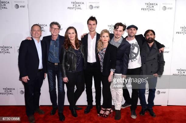 Kevin Kay Derik Murray Ashleigh Bell Kane Manera Kate Ledger Adrian Buitenhuis Trevor DiCarlo and Matt Amato attend the 'I Am Heath Ledger' premiere...