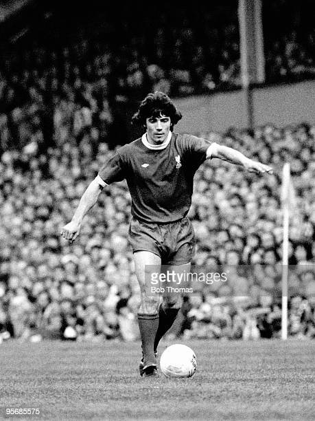 Kevin Keegan in action for Liverpool against Wolverhampton Wanderers during their First Division league match at Molineux in Wolverhampton 4th May...