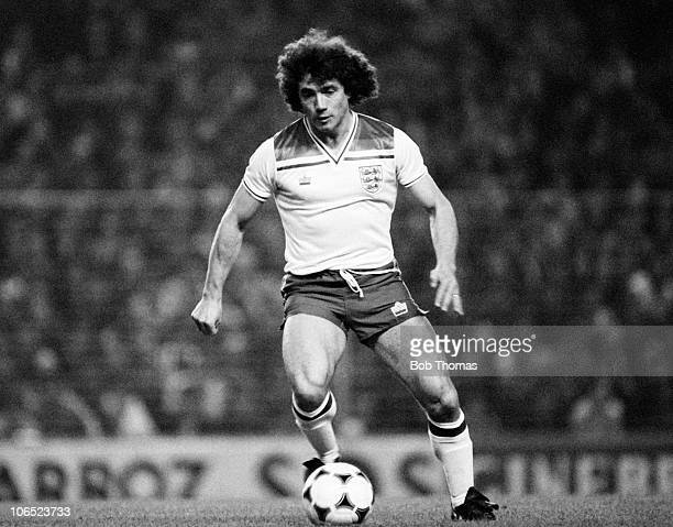 Kevin Keegan of England during the Testimonial match against Athletico Bilbao held at San Mames Stadium Bilbao on 23rd March 1982 England XI and...