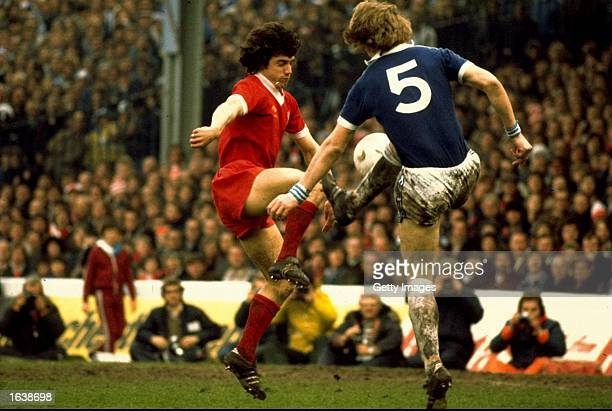 Kevin Keegan of Liverpool in action during a Division One game in England Mandatory Credit Allsport UK /Allsport