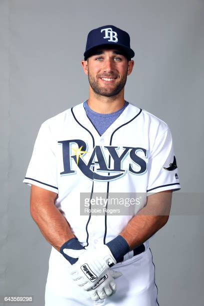 Kevin Kiermaier of the Tampa Bay Rays poses during Photo Day on Saturday February 18 2017 at Charlotte Sports Park in Port Charlotte Florida