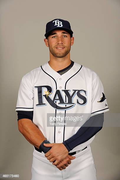 Kevin Kiermaier of the Tampa Bay Rays poses during Photo Day on Friday February 27 2015 at Charlotte Sports Park in Port Charlotte Florida