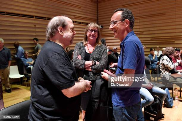 Kevin Killen and Maureen Droney attend the GRAMMY Pro Art of the Craft The Listening Sessions at The DiMenna Center on June 20 2017 in New York City