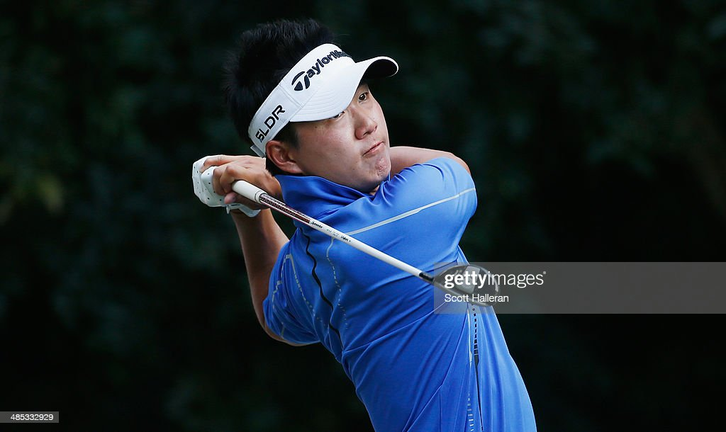 <a gi-track='captionPersonalityLinkClicked' href=/galleries/search?phrase=Kevin+Kim&family=editorial&specificpeople=598152 ng-click='$event.stopPropagation()'>Kevin Kim</a> hits a shot during the third round of the 2014 Brasil Champions Presented by HSBC at the Sao Paulo Golf Club on March 15, 2014 in San Paulo, Brazil.