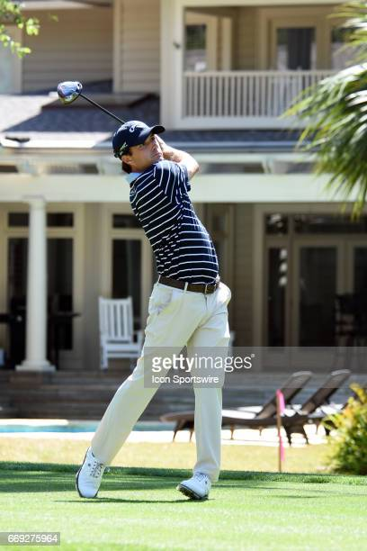 Kevin Kisner during the final round of the RBC Heritage Presented by Boeing Golf Tournament on April 16 at Harbour Town Golf Links in Hilton Head...