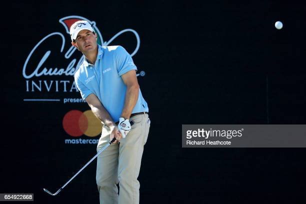 Kevin Kisner of the United States plays a shot on the 17th hole during the third round of the Arnold Palmer Invitational Presented By MasterCard at...
