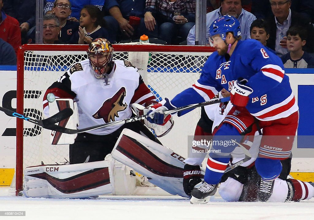 Arizona Coyotes v New York Rangers
