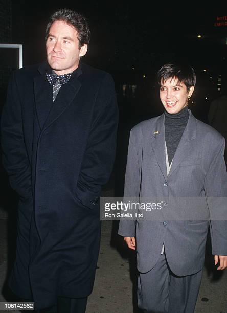 Kevin Kline and Phoebe Cates during 25th Annual New York Film Festival September 25 1987 at Lincoln Center in New Yrok City New York United States