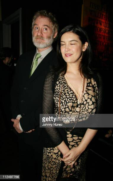 Kevin Kline and Phoebe Cates during Lulu Frost Second Anniversary Party at Tenjune in New York New York United States