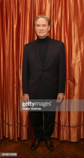 Kevin Kline attends the Broadway cast photo call for 'Present Laughter' at The Royal Suite at the Carlyle on February 22 2017 in New York City