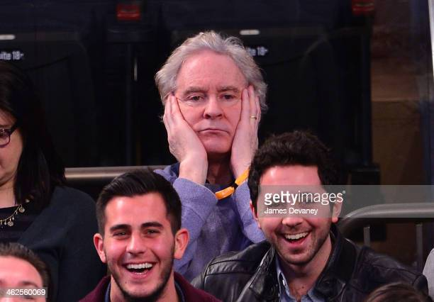 Kevin Kline attends the Phoenix Suns vs New York Knicks game at Madison Square Garden on January 13 2014 in New York City