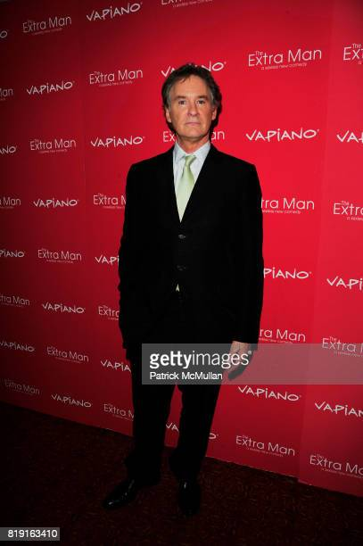 Kevin Kline attends Vapiano hosts the New York Premiere of THE EXTRA MAN red carpet arrivals and afterparty at Village East Cinema and Vapiano NYC on...
