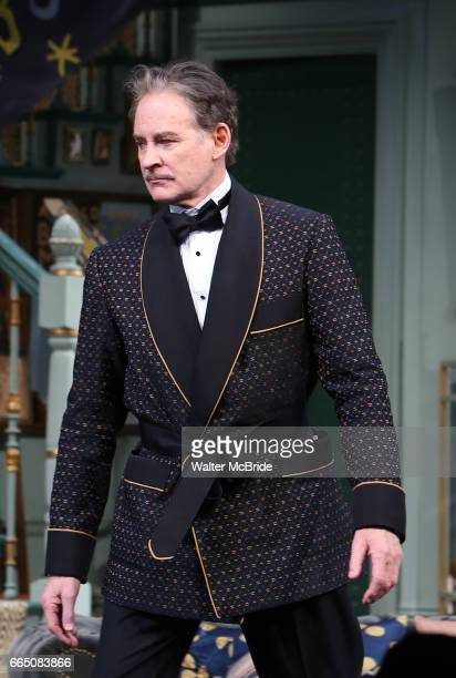 Kevin Kline during Broadway Opening Night curtain call for 'Present Laughter' at the St James Theatre on April 5 2017 in New York City