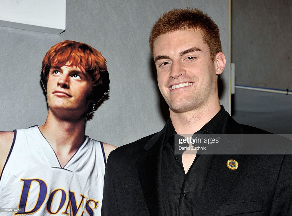 Kevin Laue attends the 'Long Shot: The Kevin Laue Story' New York Premiere at Quad Cinema on October 26, 2012 in New York City.