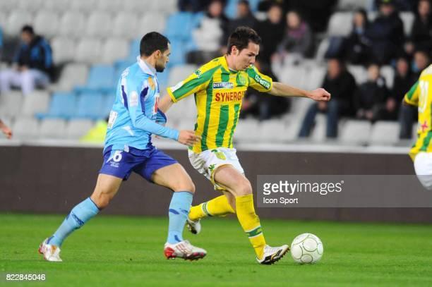 Kevin LEJEUNE Nantes / Le Havre 31eme journee de Ligue 2 Stade de la Beaujoire Nantes