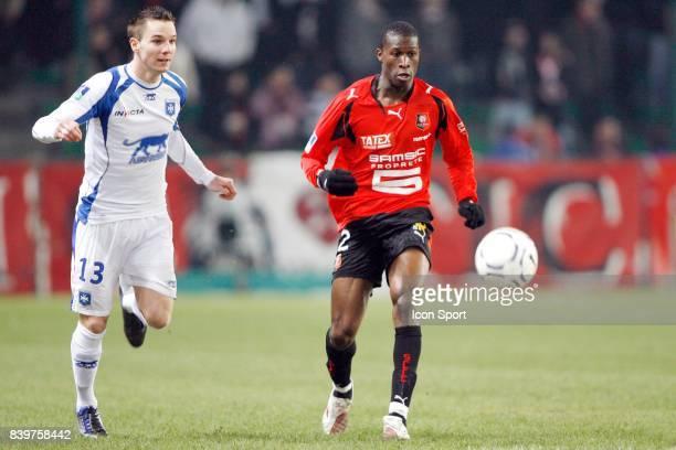 Kevin LEJEUNE / Rod FANNI Rennes / Auxerre 24eme Journee de Ligue 1