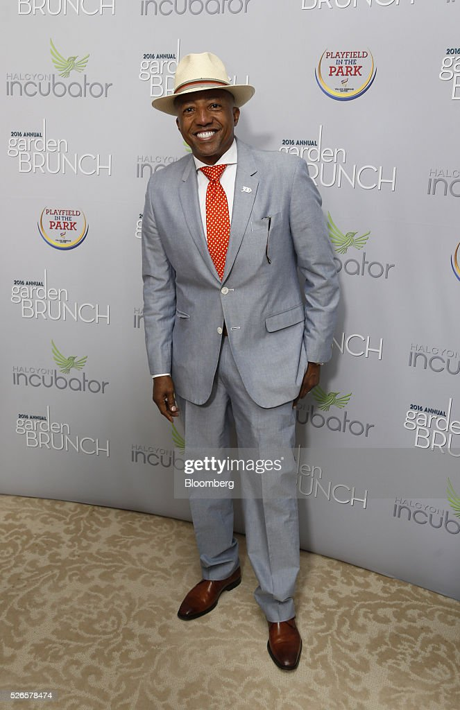 Russell Simmons, chairman and chief executive officer of Rush Communications, attends the 23rd Annual White House Correspondents' Garden Brunch in Washington, D.C., U.S., on Saturday, April 30, 2016. The event will raise awareness for Halcyon Incubator, an organization that supports early stage social entrepreneurs 'seeking to change the world' through an immersive 18-month fellowship program. Photographer: Andrew Harrer/Bloomberg via Getty Images