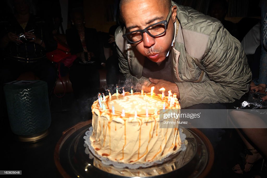 <a gi-track='captionPersonalityLinkClicked' href=/galleries/search?phrase=Kevin+Liles&family=editorial&specificpeople=236082 ng-click='$event.stopPropagation()'>Kevin Liles</a> celebrates his 45th birthday at The Rec Room on February 27, 2013, in New York City.