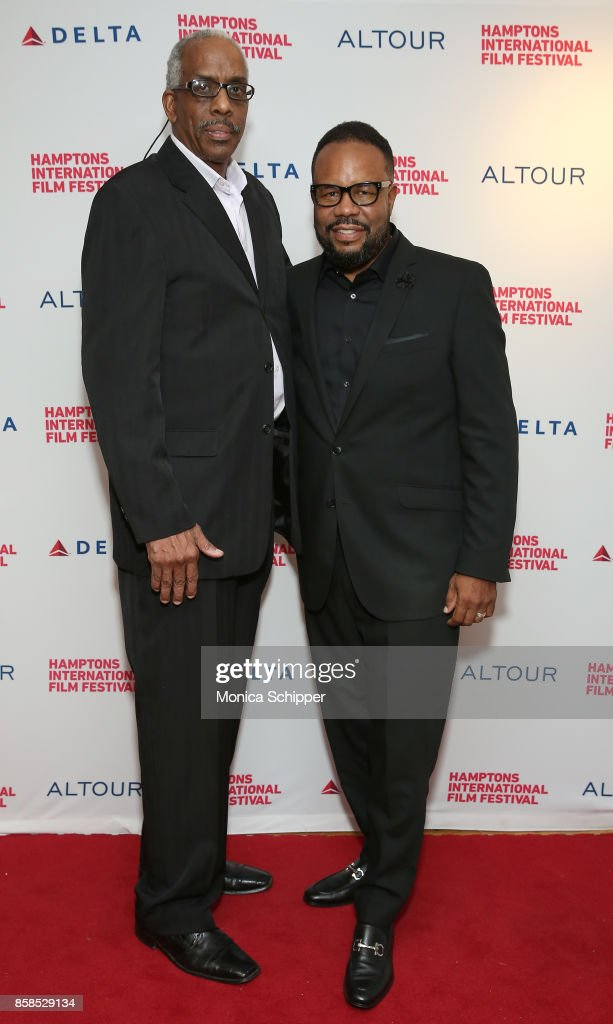 Kevin Lloyd, David Spivey attend the photo call for 'The First To Do It' at Bay Street Theater, 1 during Hamptons International Film Festival 2017 - Day Two on October 6, 2017 in Sag Harbor, New York.