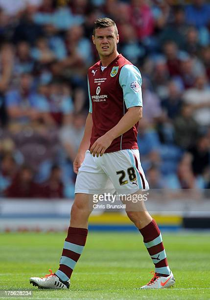 Kevin Long of Burnley looks on during the Sky Bet Championship match between Burnley and Bolton Wanderers at Turf Moor on August 03 2013 in Burnley...