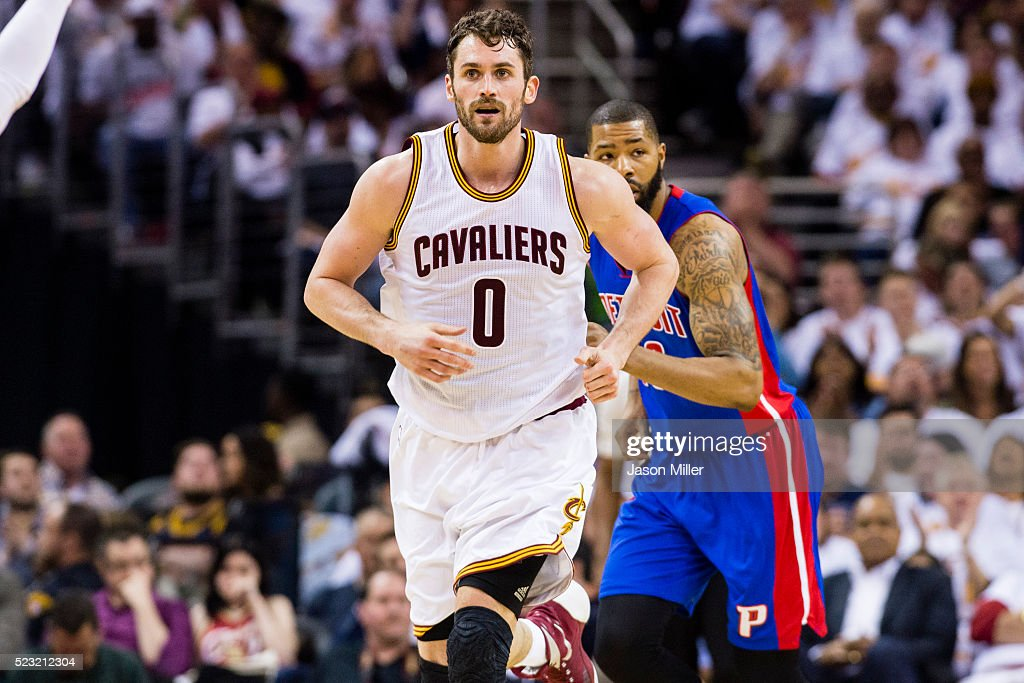 Detroit Pistons v Cleveland Cavaliers - Game One | Getty ...