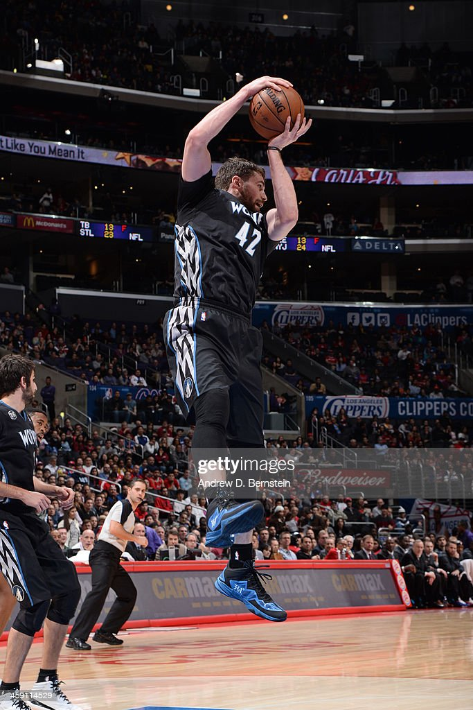 ba17cda49 ... order jersey 21.50usd kevin love 42 of the minnesota timberwolves grabs  the rebound against the