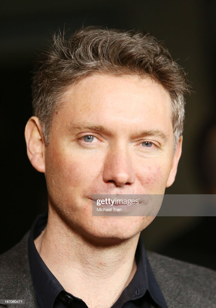 Kevin Macdonald arrives at the Los Angeles premiere of 'How I Live Now' held at ArcLight Hollywood on November 5 2013 in Hollywood California