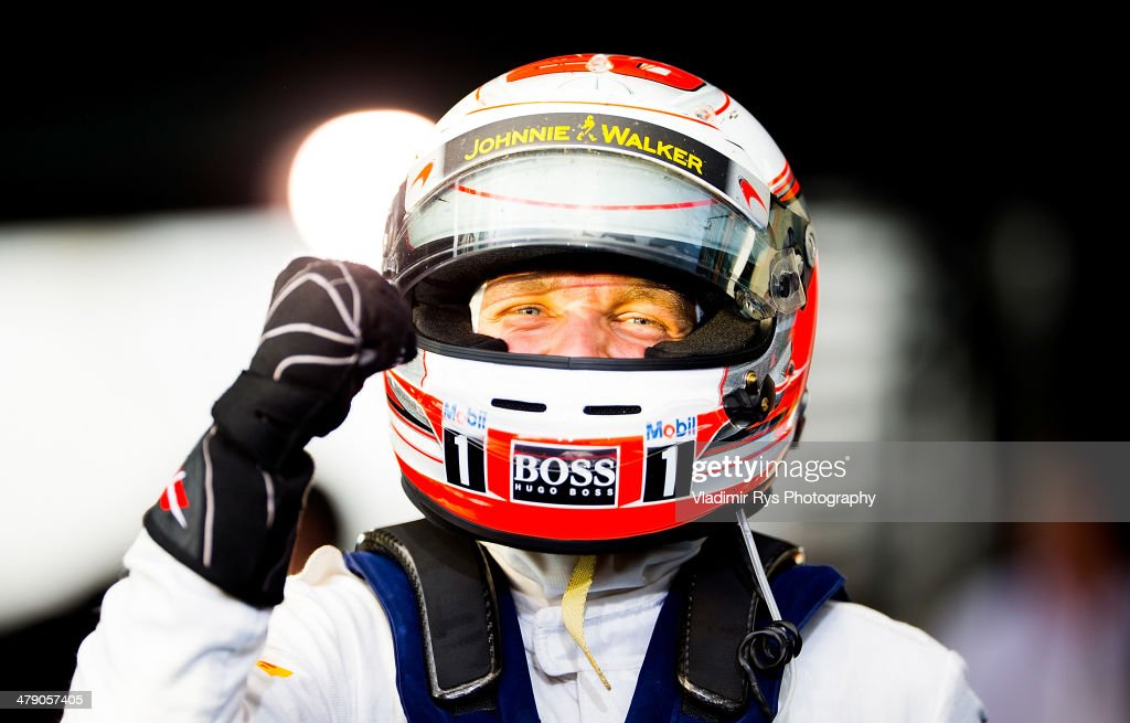 <a gi-track='captionPersonalityLinkClicked' href=/galleries/search?phrase=Kevin+Magnussen&family=editorial&specificpeople=7882003 ng-click='$event.stopPropagation()'>Kevin Magnussen</a> of Denmark and McLaren Mercedes celebrates after finishing third during the Australian Formula One Grand Prix at Albert Park on March 16, 2014 in Melbourne, Australia.
