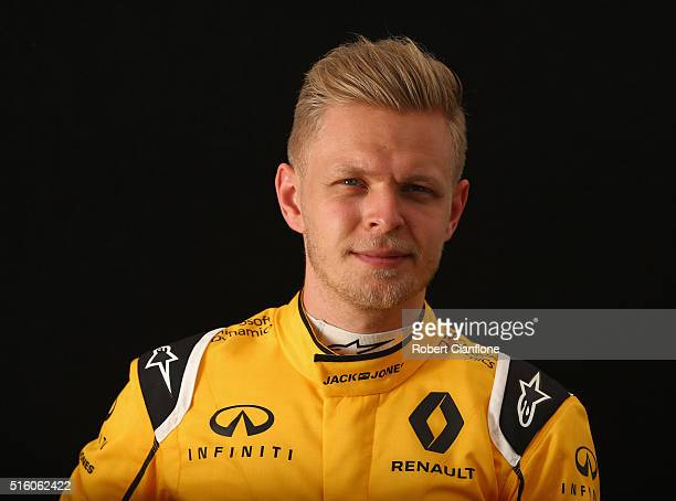Kevin Magnussen of Denmark and Renault Sport F1 during previews to the Australian Formula One Grand Prix at Albert Park on March 17 2016 in Melbourne...