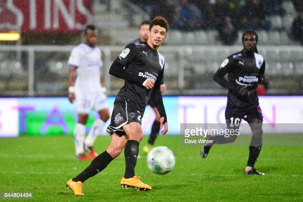 Kevin MALCUIT Auxerre / Niort 18e journee Ligue 2 Photo Dave Winter / Icon Sport