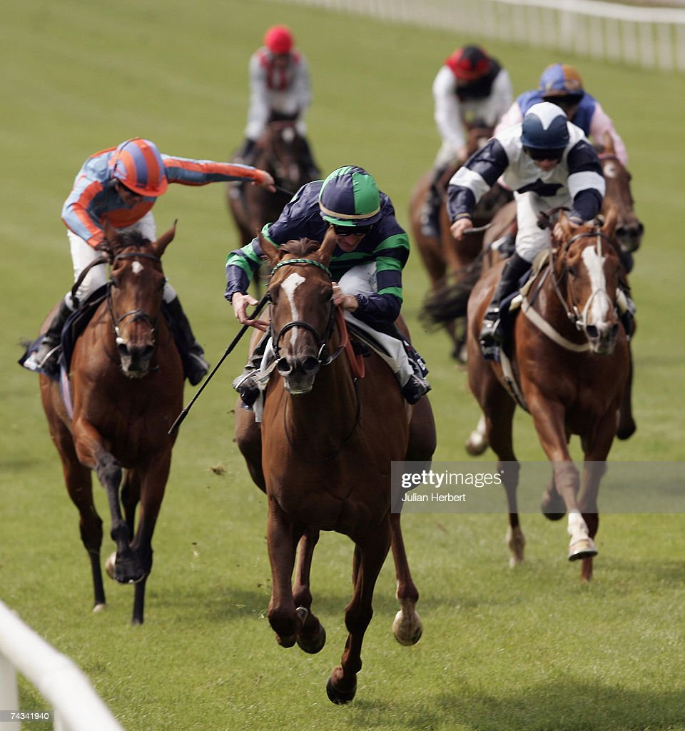 Kevin Manning and Finsceal Beo land The Boylesports Irish 1000 Guineas Race run at The Curragh Racecourse on May 27 in The Curragh Ireland